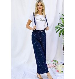 Edie – Palazzo overalls with removable straps
