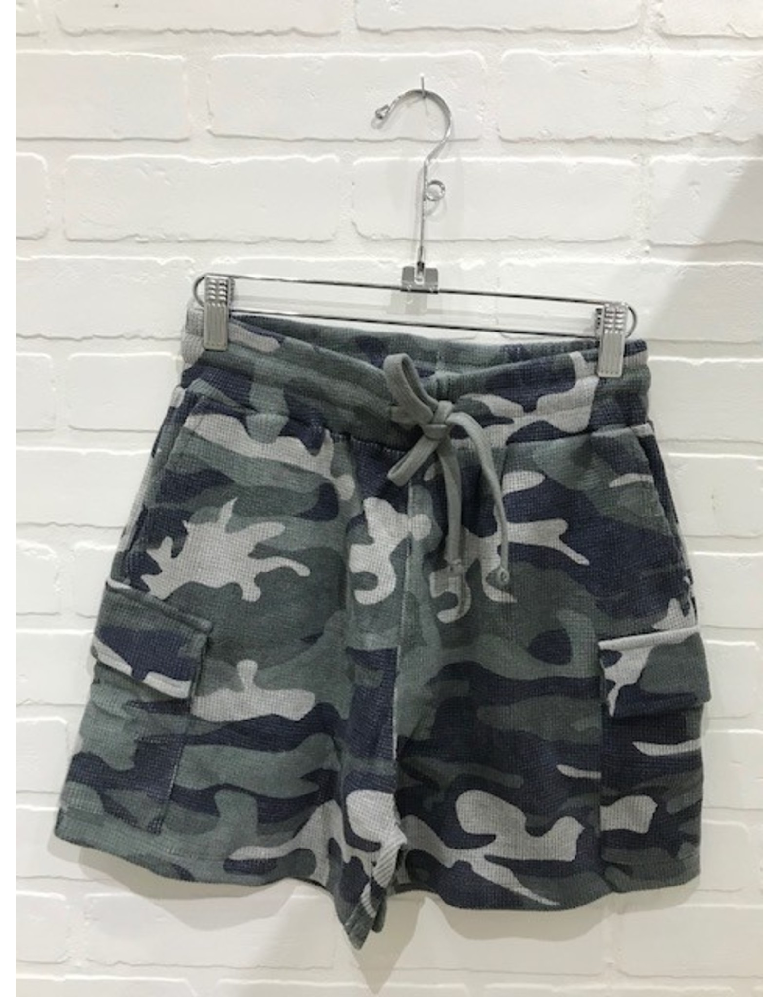 RD Style RD Style - Sloane knit shorts (grey camo)
