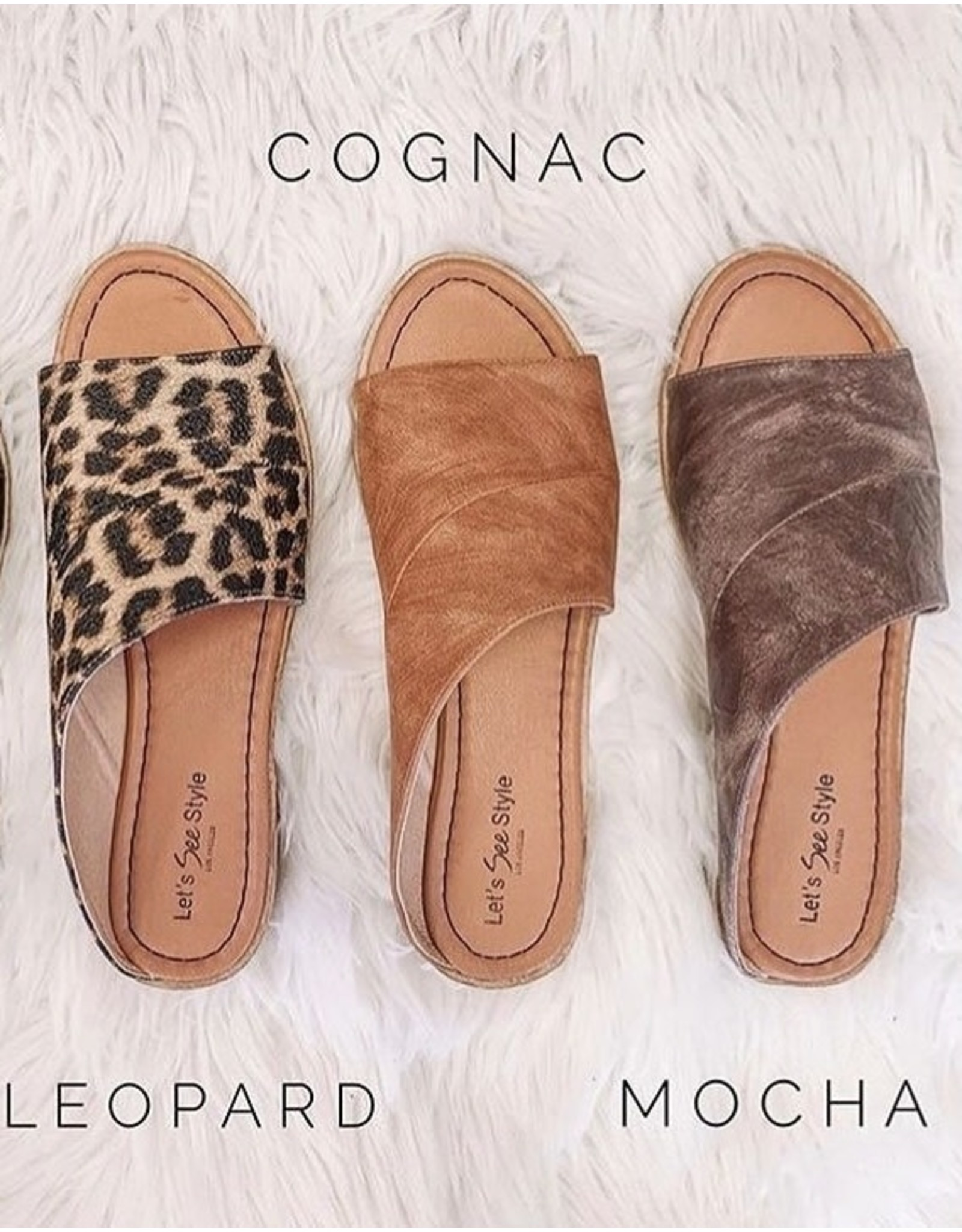 Let's See Style Let's See Style - Prague sandal (leopard)