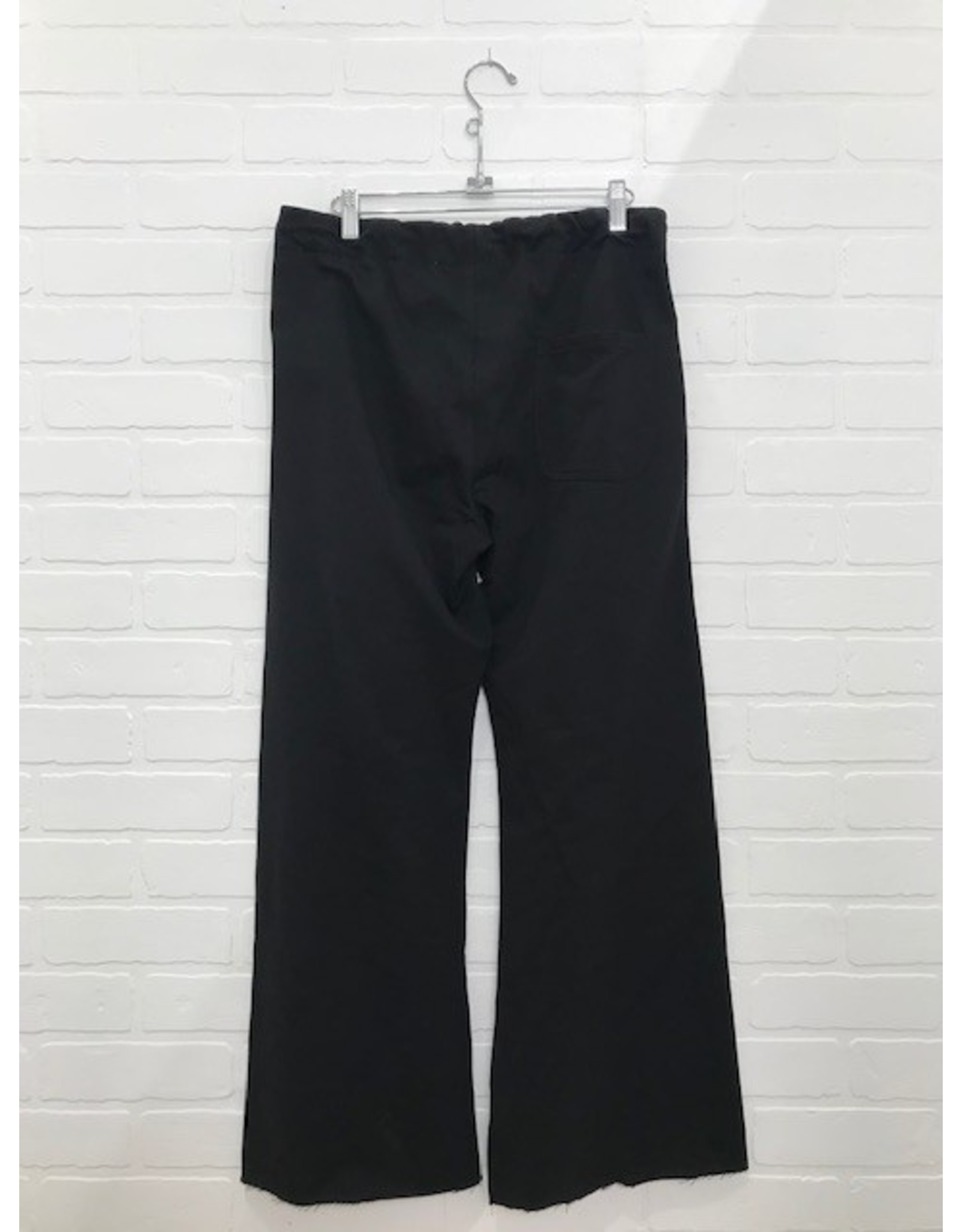 RD Style RD Style - Sloane French Terry wide leg jogger (black)