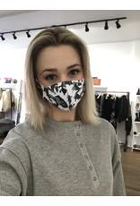 Face mask (gray camo)