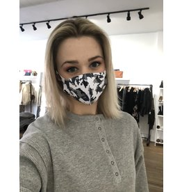 Face mask (gray camo)