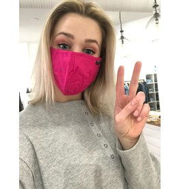 Papillon Papillon - Face mask (fuschia)