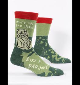 Blue Q Blue Q - Dad Joke crew socks (men's size)