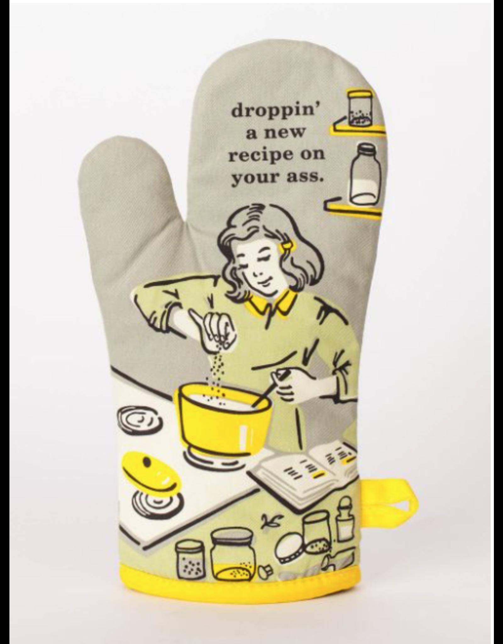 Blue Q Blue Q - Droppin' a Recipe oven mitt