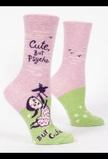 Blue Q Blue Q - Cute, But Psycho - crew socks
