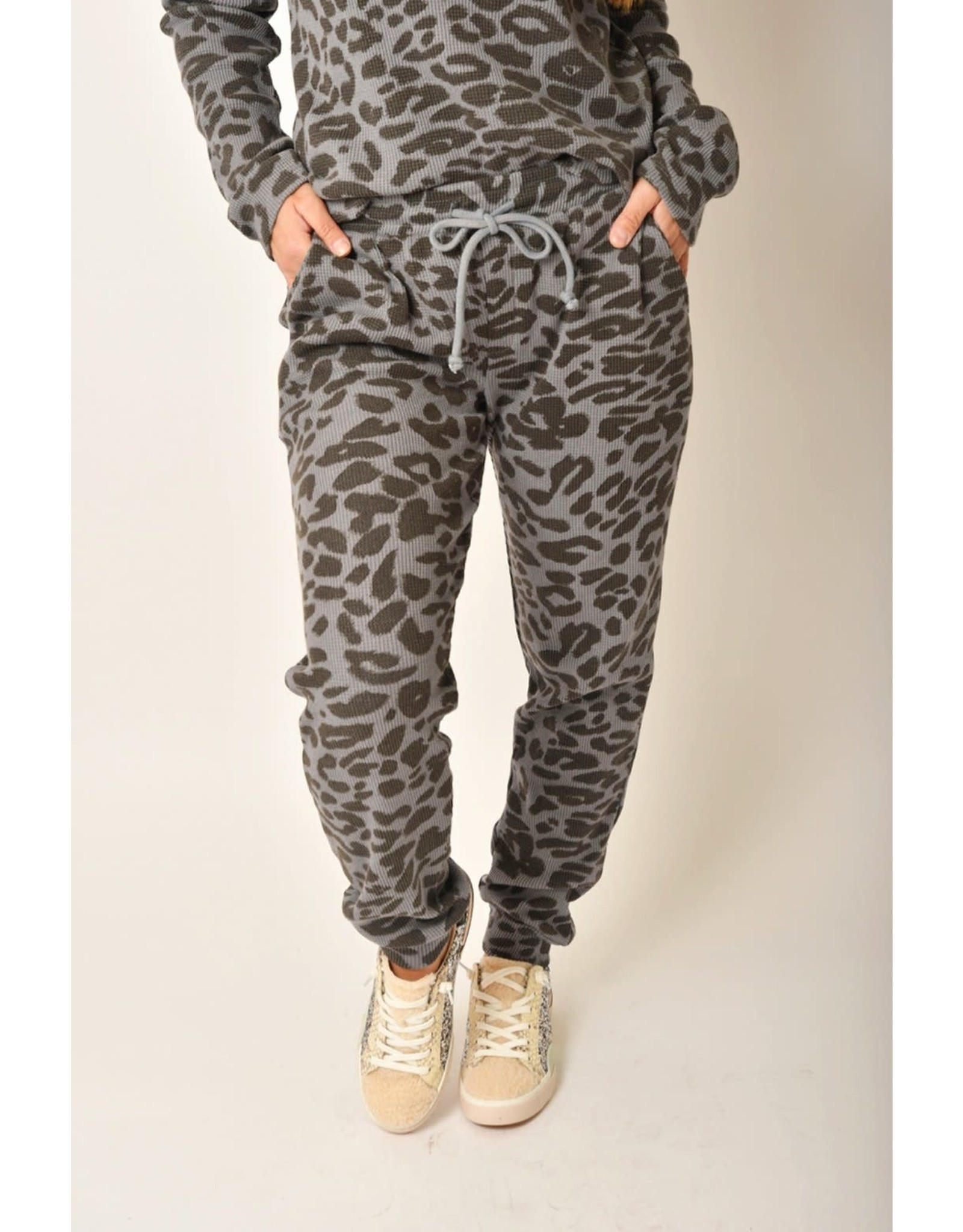 RD Style RD Style - Knit joggers (grey leopard)