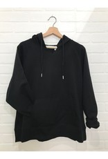 RD Style RD Style - Jasper oversized French Terry hoodie (black)