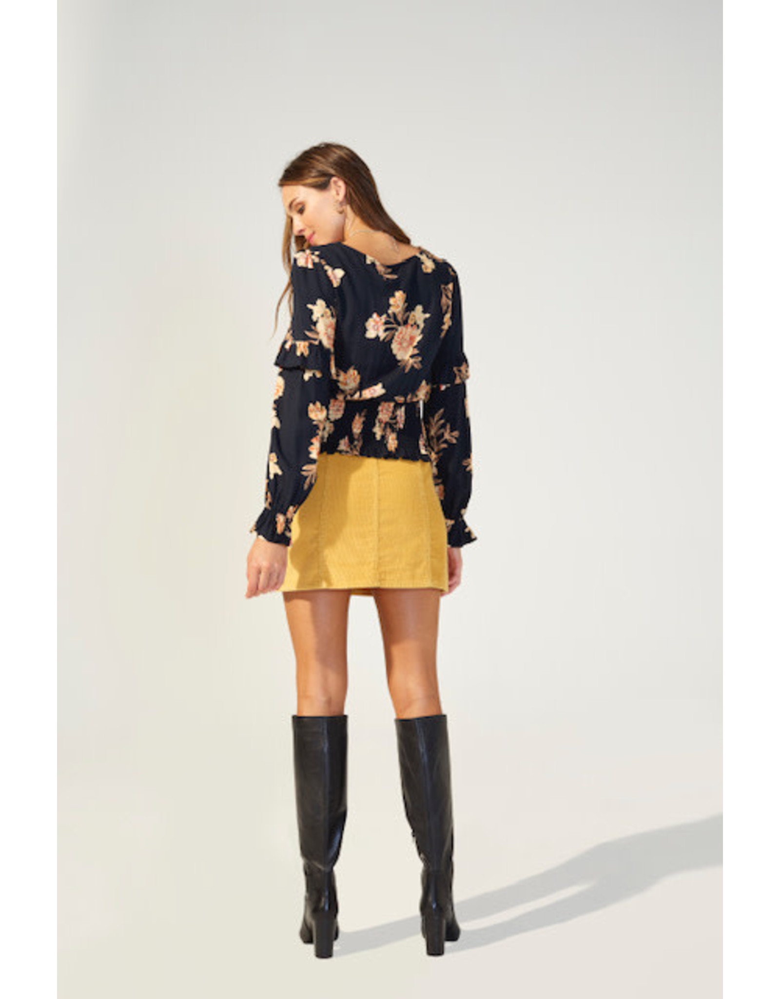 Mink Pink New Day blouse
