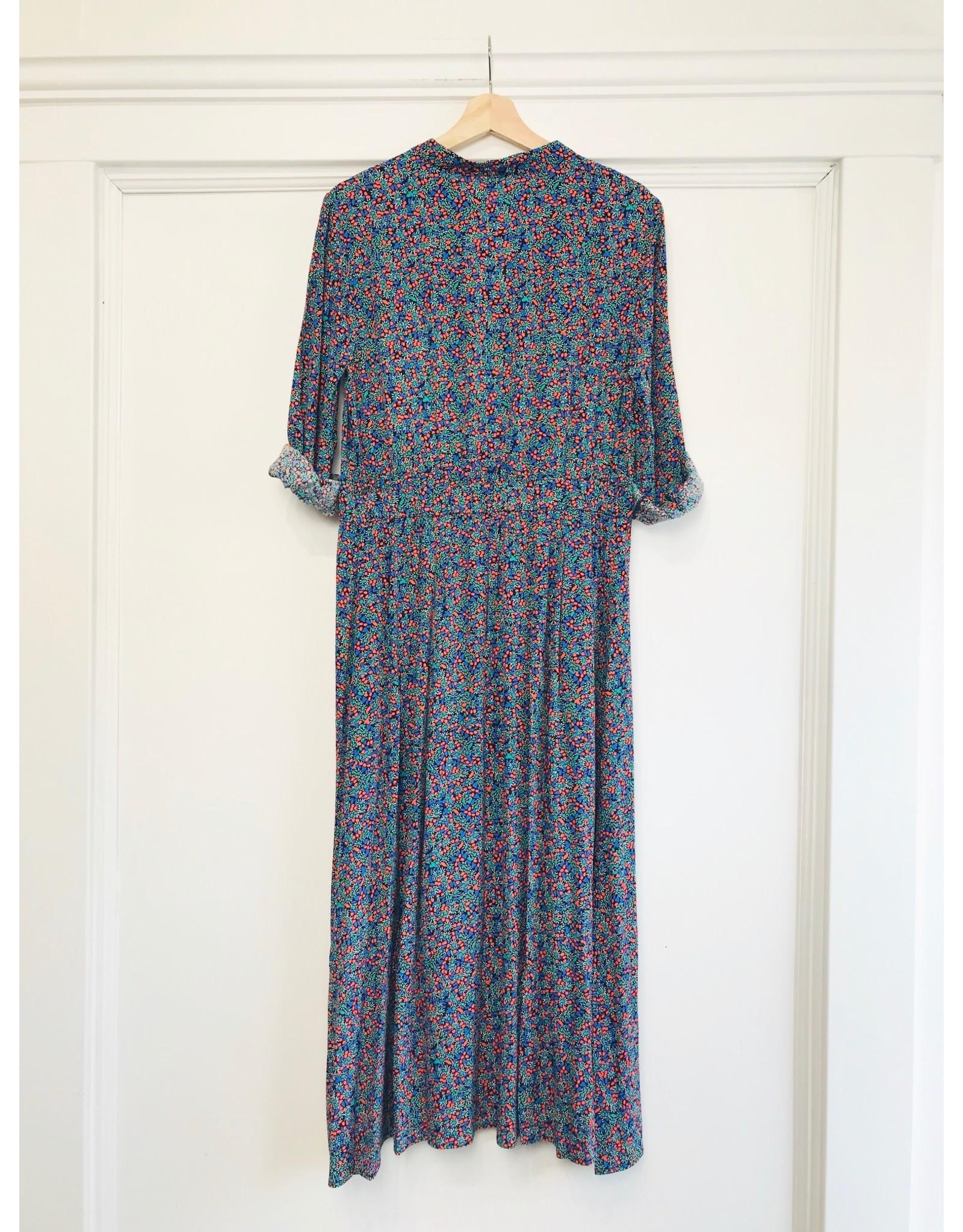 See U Soon See U Soon - Floral print midi dress