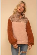 Twyla - Half zip fleece pullover