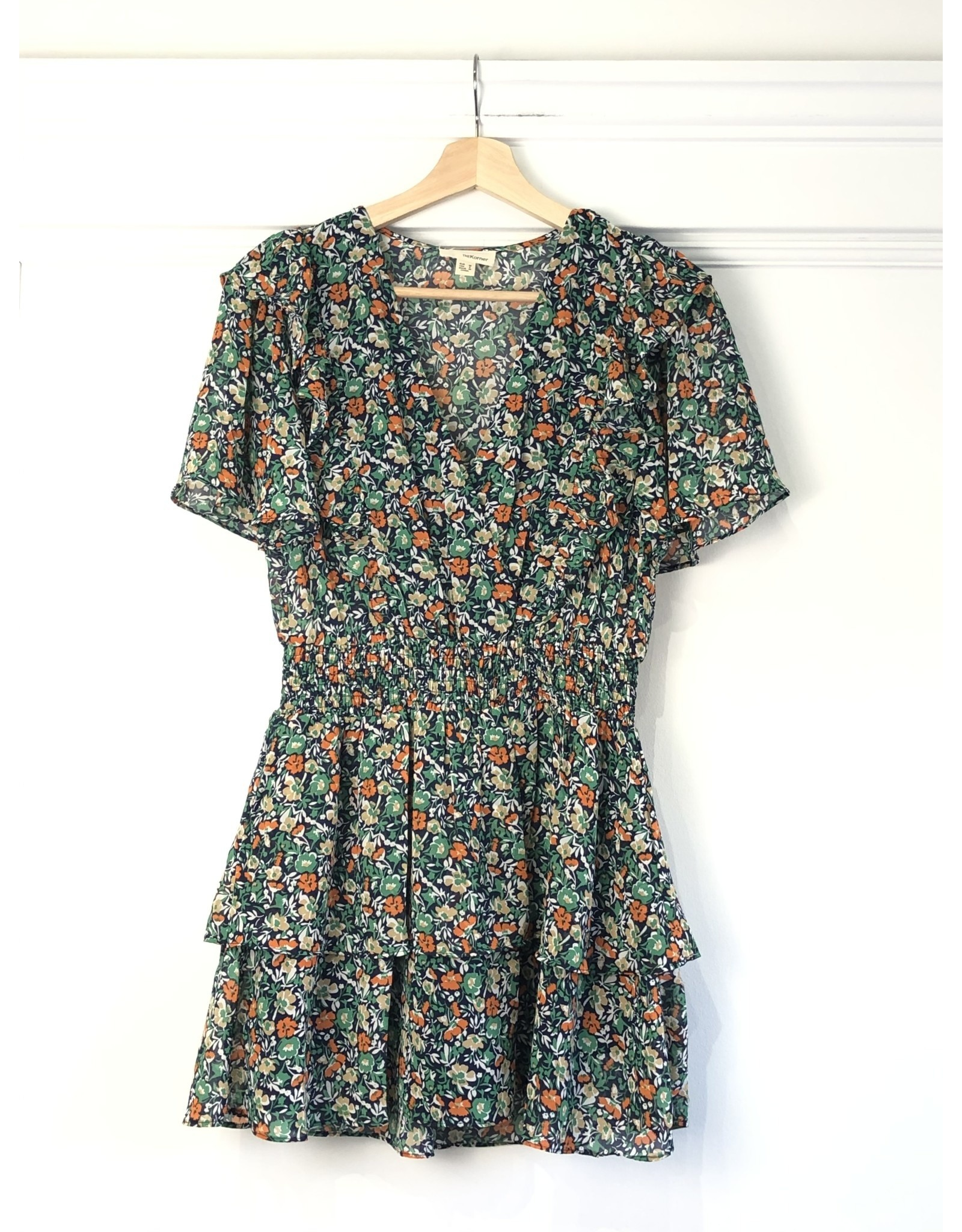 Korner Korner - Moxie floral mini dress (navy)