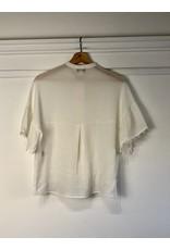 See U Soon See U Soon - Monica short sleeve blouse (off white)