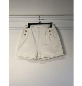 See U Soon See U Soon - Bettie sailor shorts (white)