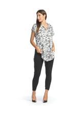 Papillon Papillon - Floral short sleeved blouse