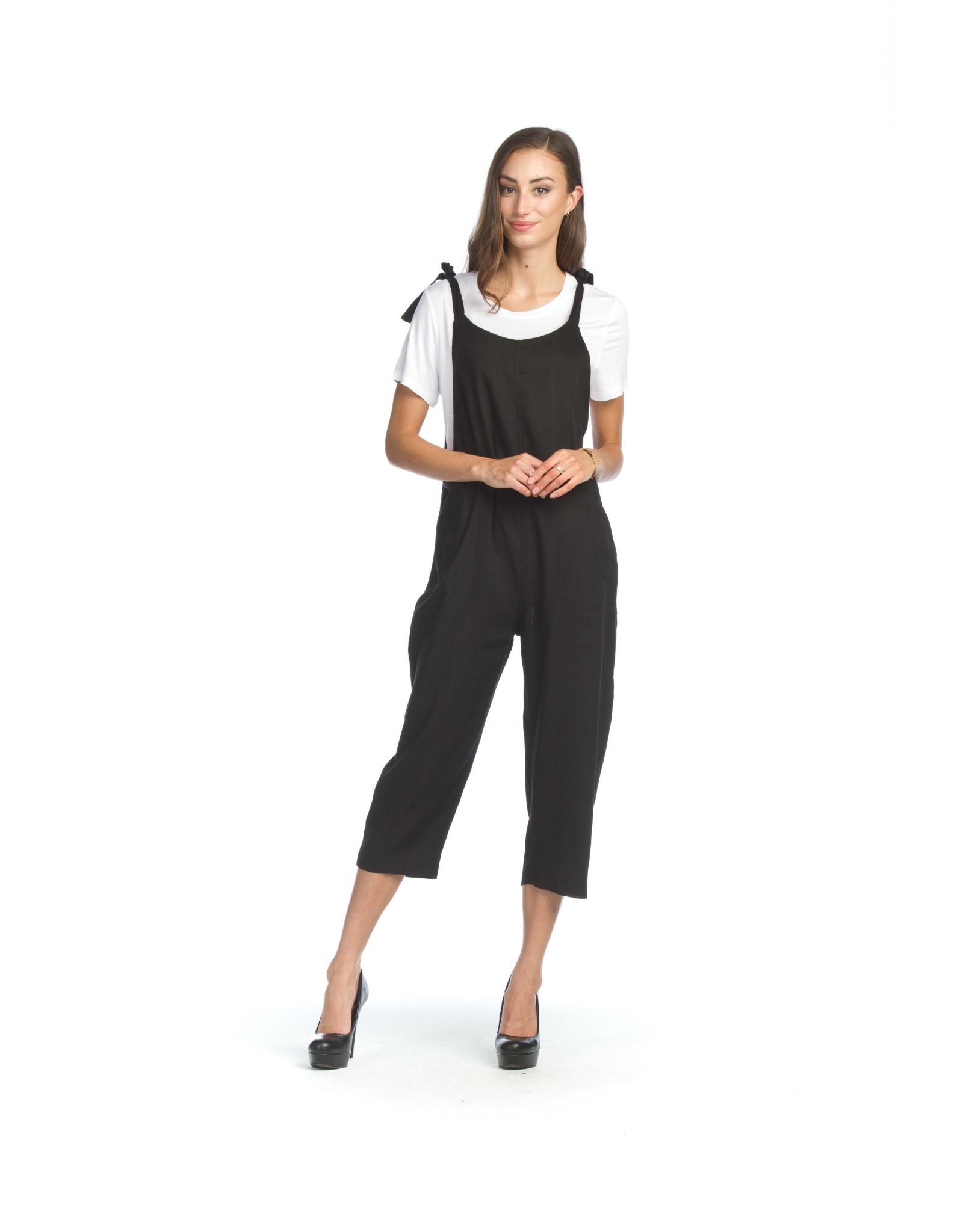 Papillon Papillon - Harper cotton jumpsuit (black)