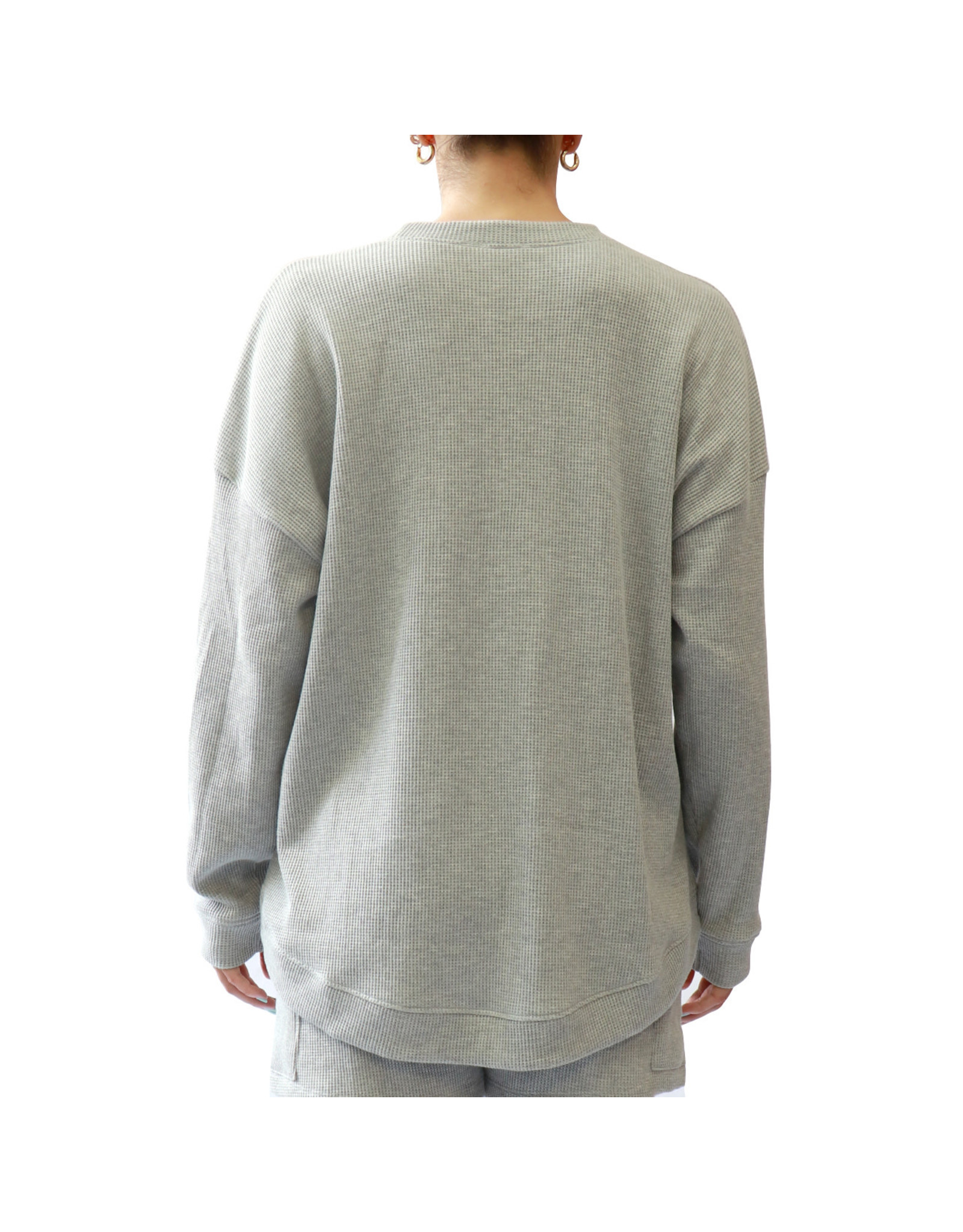 RD Style RD Style - Lina knit pullover (heather grey)