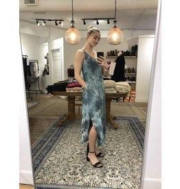 Papillon Papillon - Tie dye maxi dress with pockets