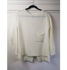 M - Made in Italy Made in Italy - Delia knit sweater (white)