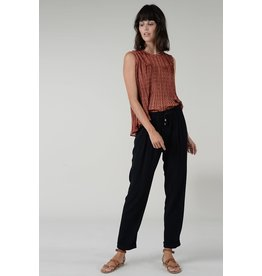 Molly Bracken Molly Bracken - Fluid straight leg pants (black)