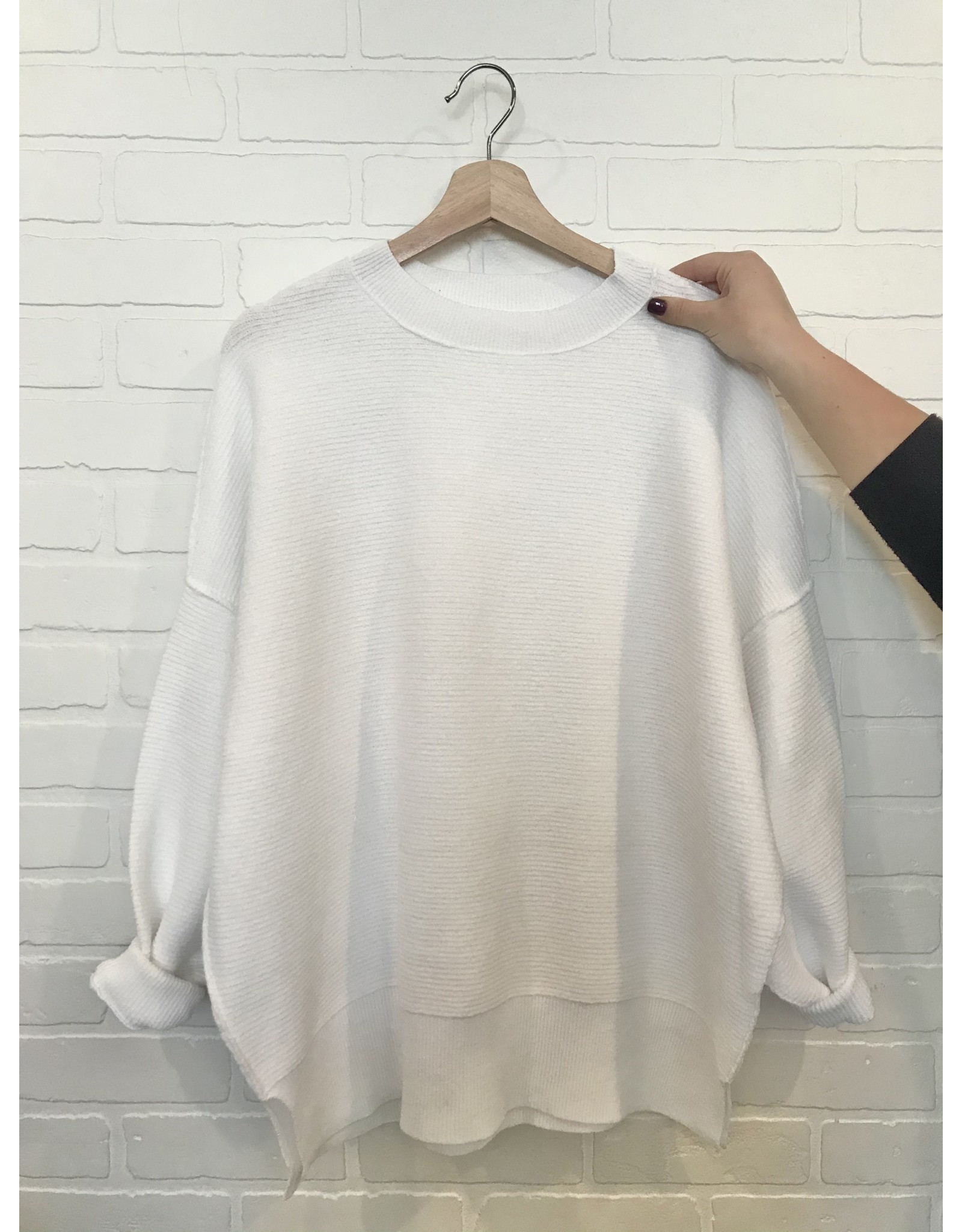 RD Style RD Style - Jessy crewneck pullover (white)