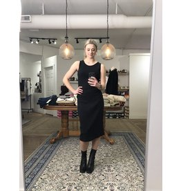RD Style RD Style - Ribbed knit dress (black)