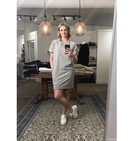 RD Style RD Style - French terry dress (heather grey)