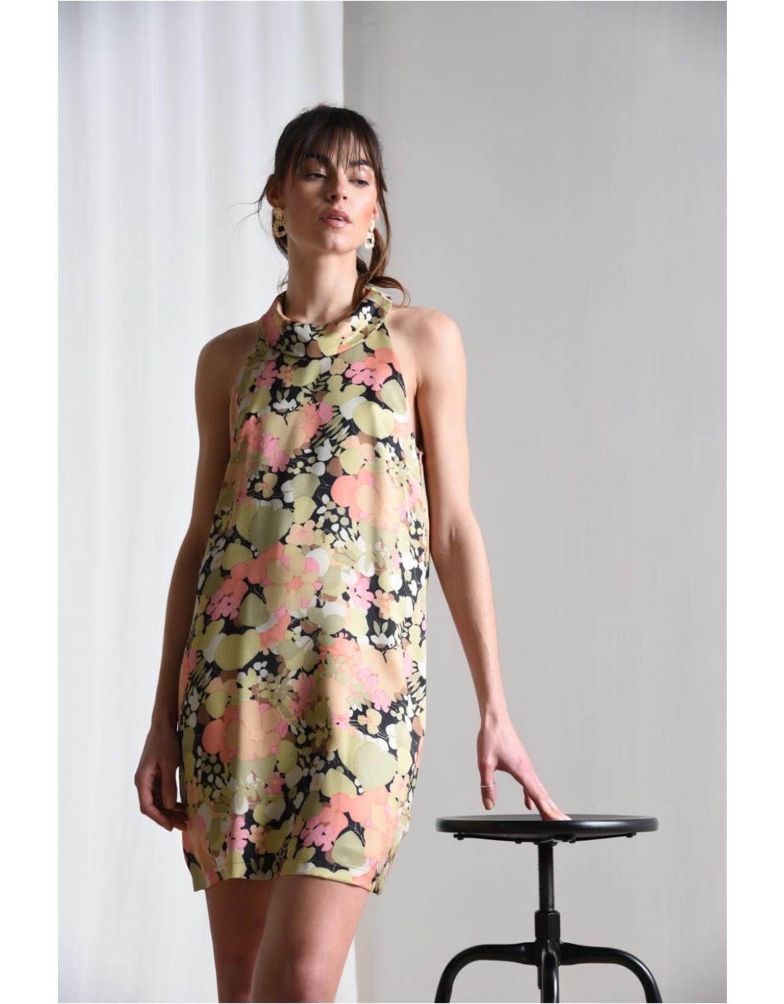 Molly Bracken Molly Bracken - Foliage print dress