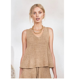 Lost in Lunar Lost in Lunar - Amy knit top (nude)