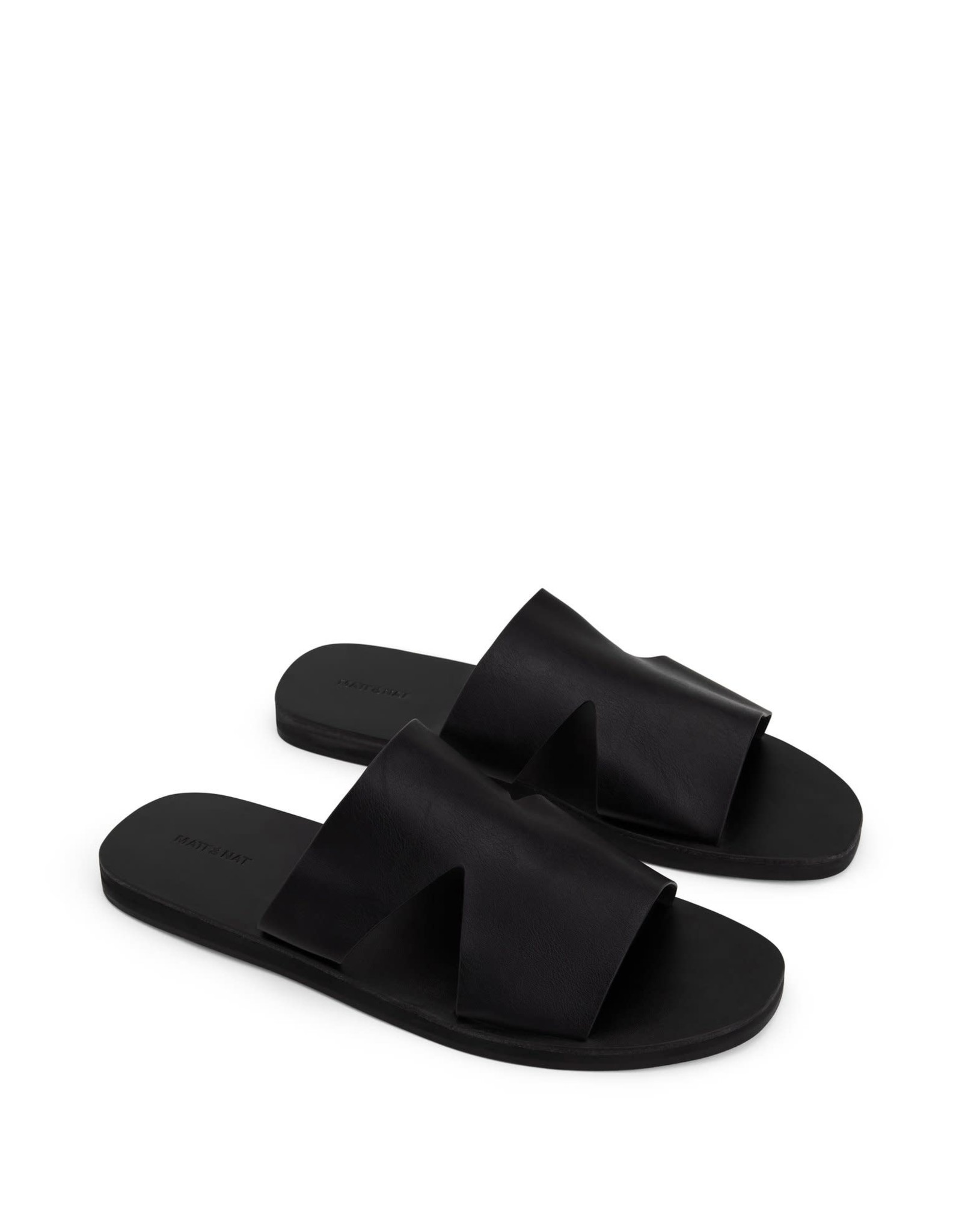 Matt & Nat Matt & Nat - Lily slip on sandal (black)