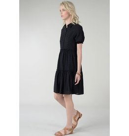 Molly Bracken Molly Bracken - Woven shirt dress (black)