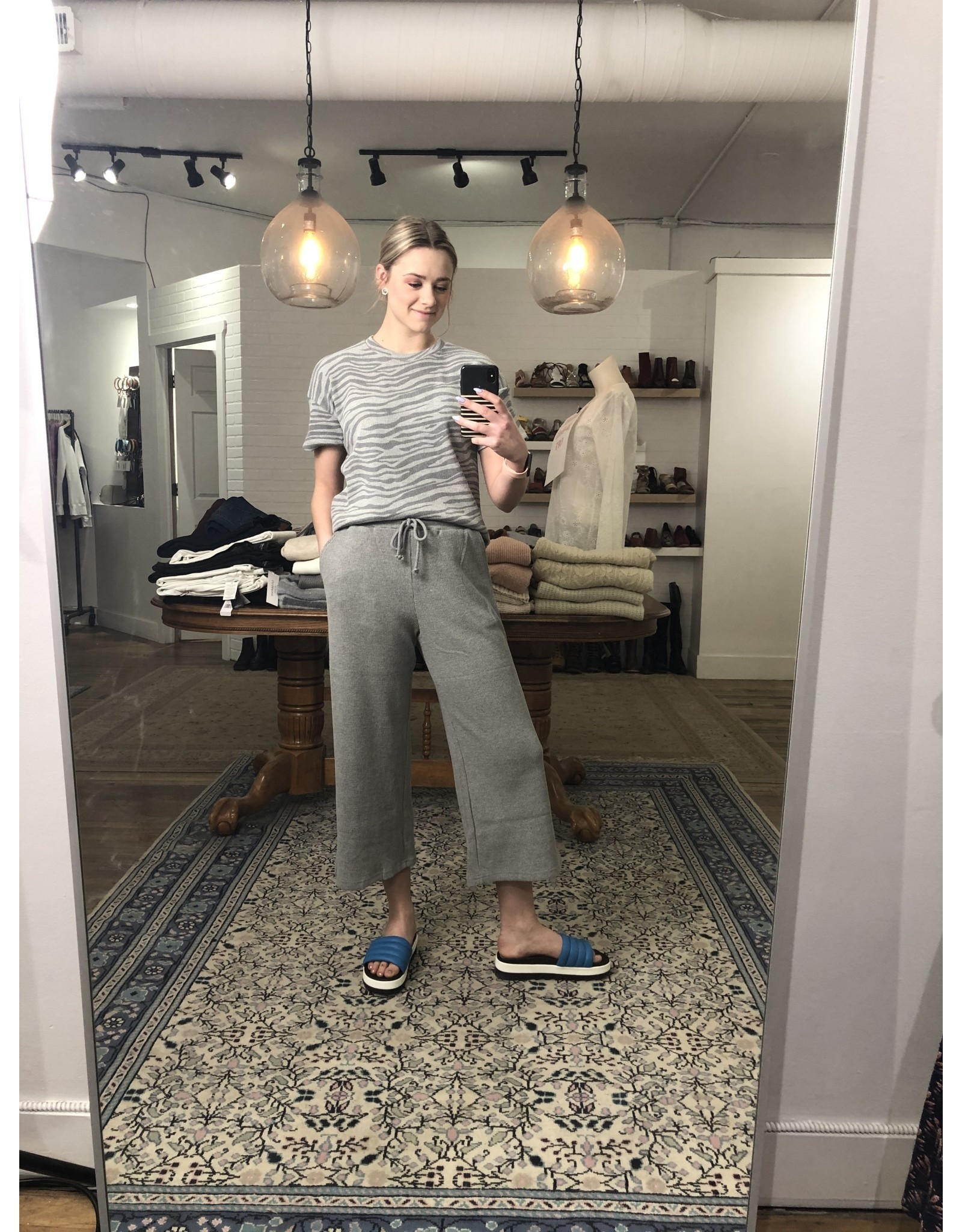 RD Style RD Style - Waffle knit pants (heather grey)