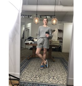 RD Style RD Style - Waffle knit shorts (heather grey)
