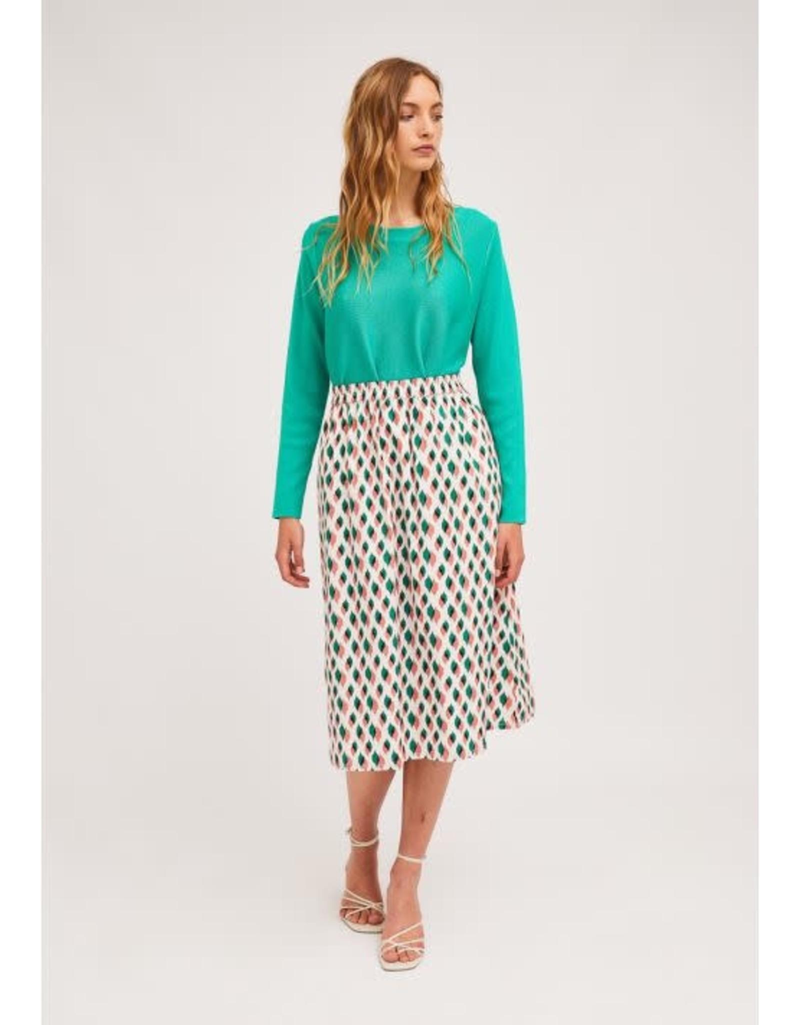 Compania Fantastica Compania Fantastica - A Line midi skirt