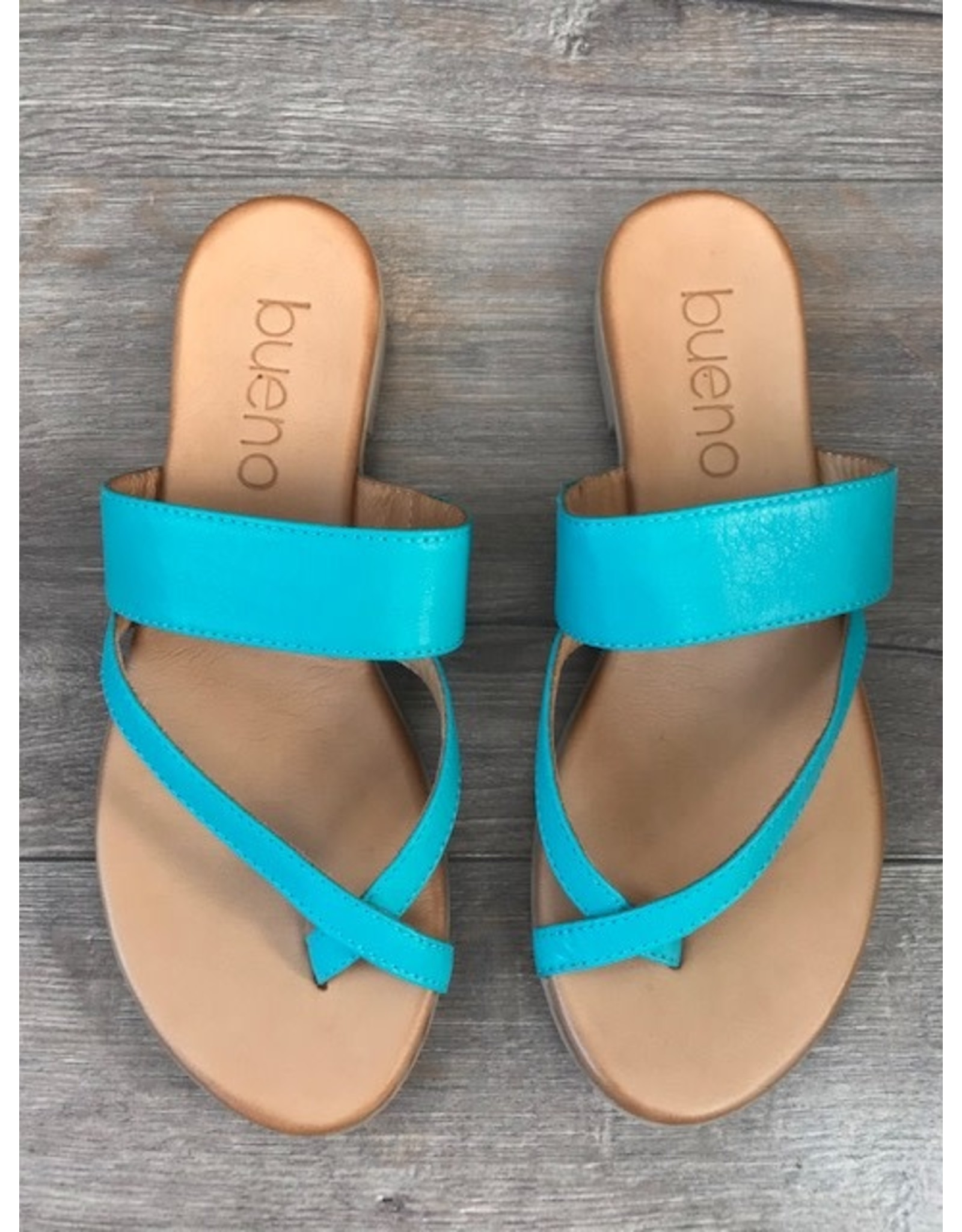 Bueno Bueno - Jackson toe post sandal (turquoise)