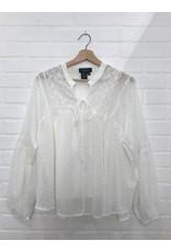 Papillon Papillon - Tufted boho blouse