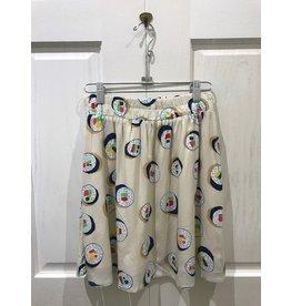 Compania Fantastica Compania Fantastica - Sushi Print Skirt
