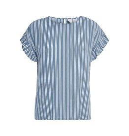 ICHI ICHI - Marrakech blouse (coronet blue)