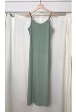 Papillon Papillon - Ribbed dress with side slit