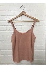 RD Style RD Style - Milly linen tank (cloud pink)