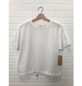 RD Style RD Style - Organic tee with drawstring hem (white)