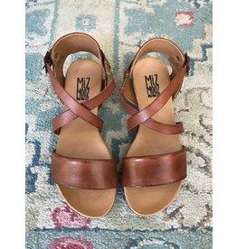 Miz Mooz Miz Mooz - Aster sandal (brandy)