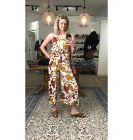 Papillon Papillon - Floral wrap style jumpsuit
