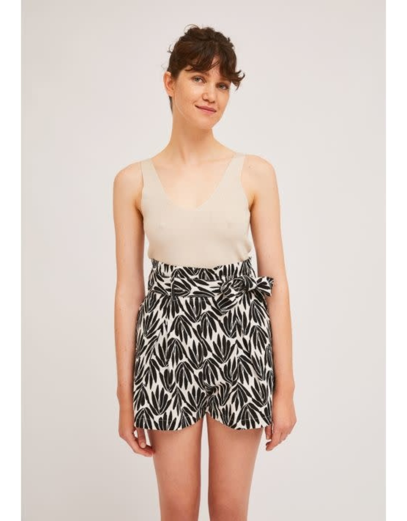 Compania Fantastica Compania Fantastica - Palm print shorts