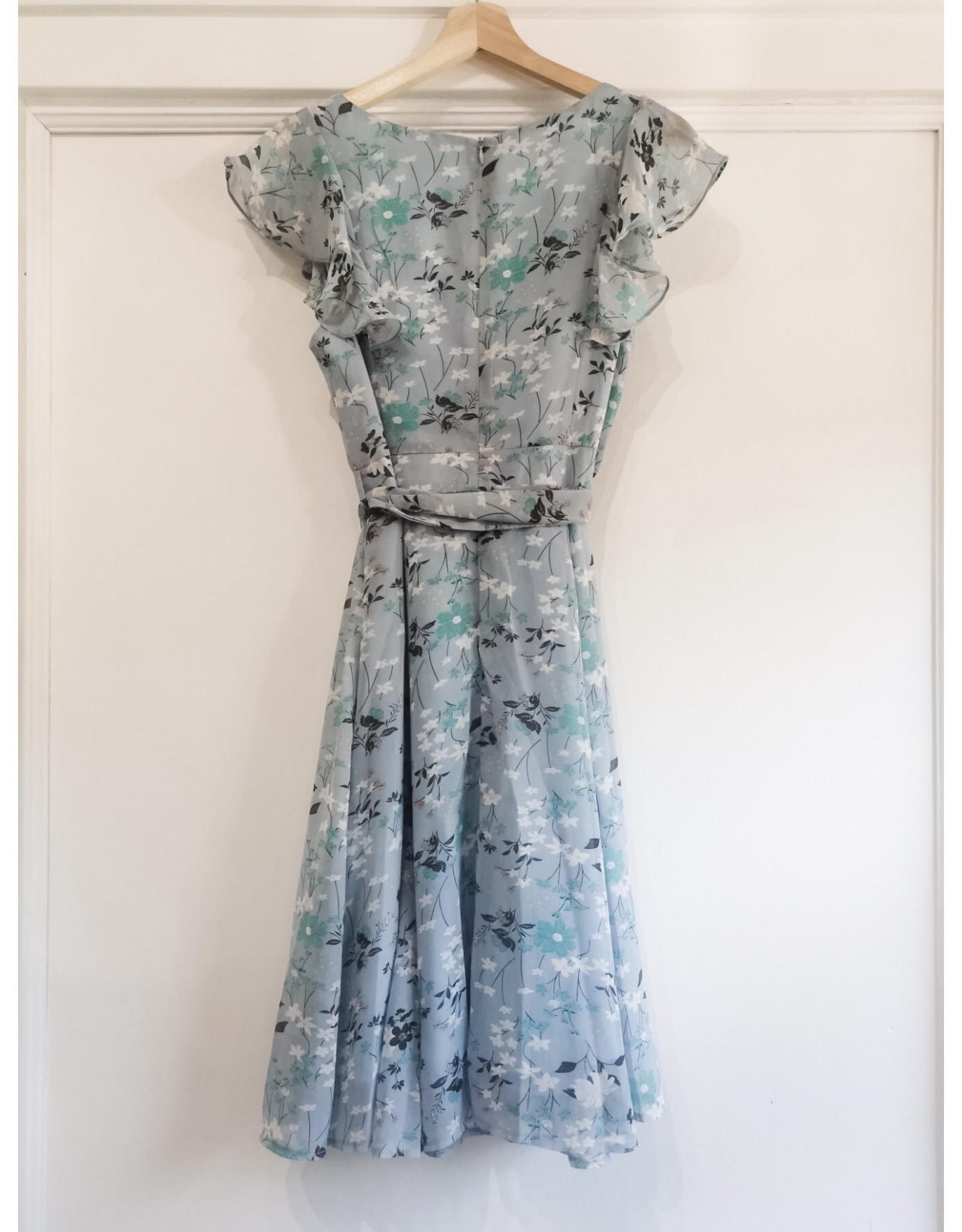 Papillon Papillon - Floral dress with ruffle details