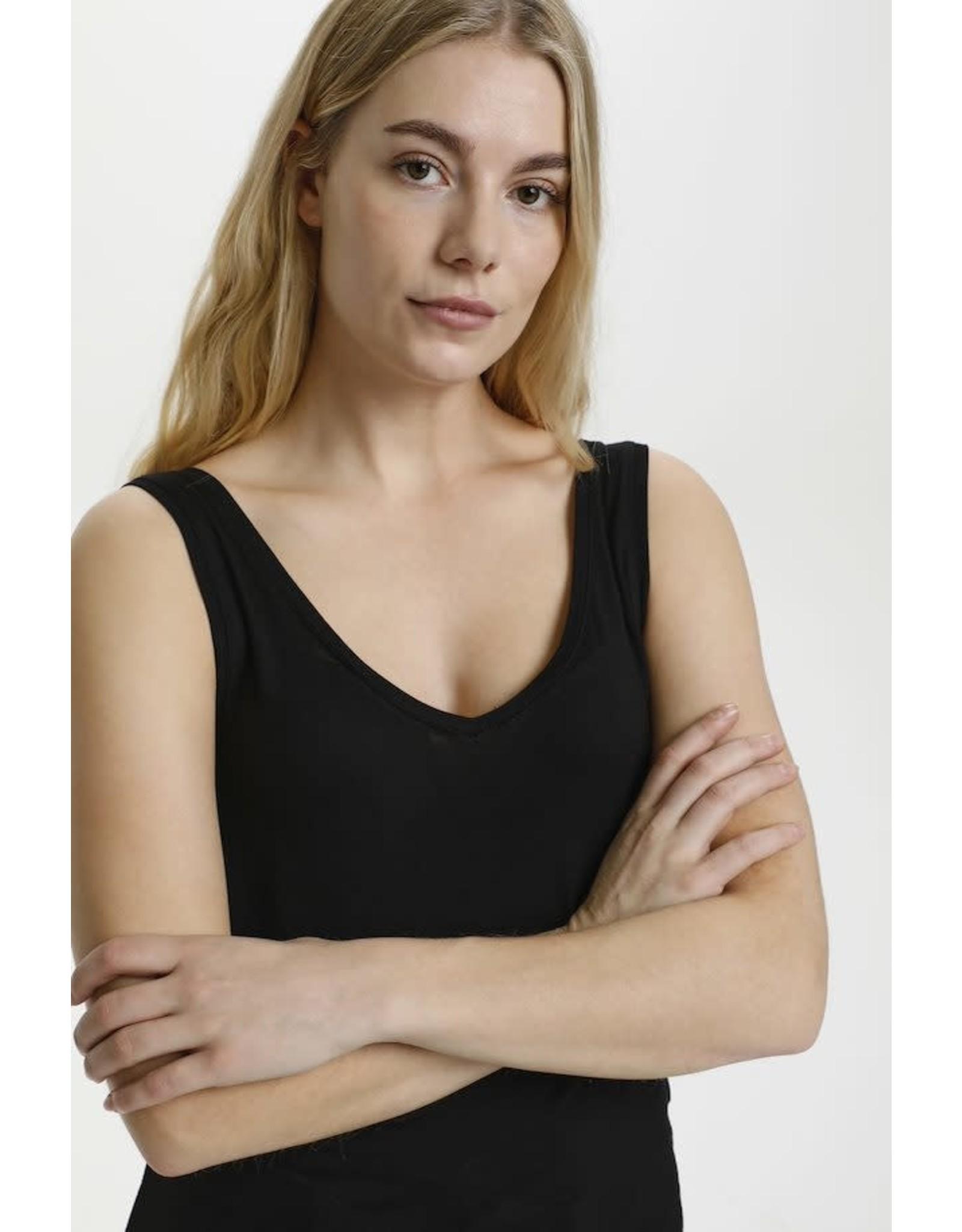 Culture Culture - Philipa V neck (black)