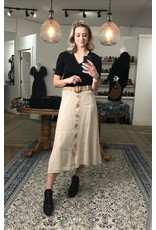 M - Made in Italy Made in Italy - Woven skirt (beige)