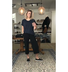 M - Made in Italy Made in Italy - Viscose pants (black)