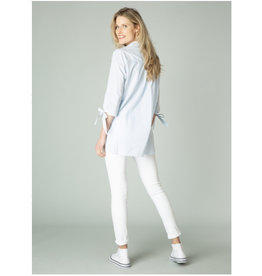 Yest Yest - Ginyta blouse (chambray/white)