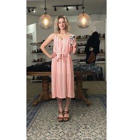 Mink Pink Mink Pink - Ocean side striped midi dress